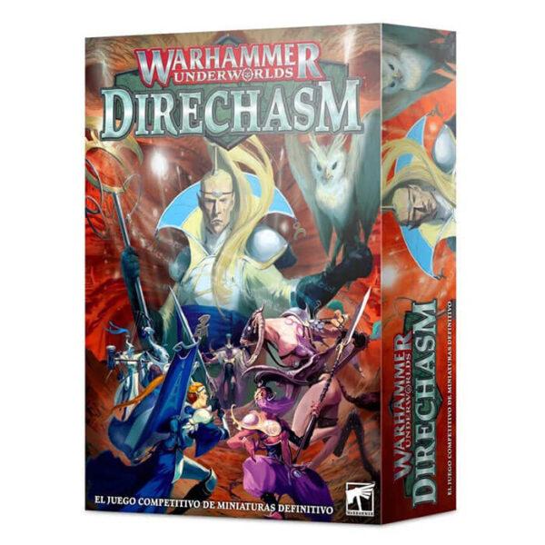 games workshop 110-02 Warhammer Underworlds: Direchasm Direchasm es un juego de miniaturas ambientado en el universo de Warhammer. En la caja tienes todo lo necesario para empezar a jugar