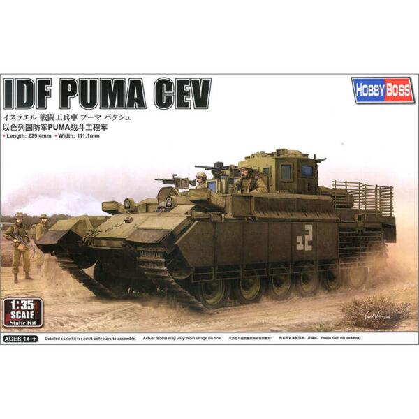 hobby boss 84547 IDF PUMA CEV 1/35 Kit en plástico para montar y pintar. Incluye piezas en fotograbado y cadenas por eslabones individuales.
