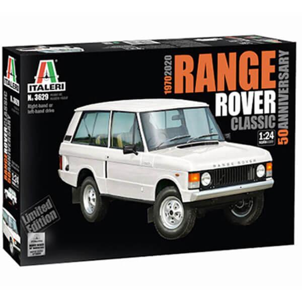italeri 3629 RANGE ROVER Classic 50th Anniversary 1/24 Kit en plástico para montar y pintar.