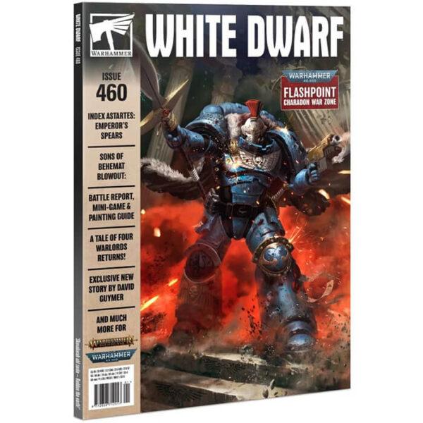 White Dwarf nº 460 revista en Inglés La revista White Dwarf esta centrada en el universo de los juegos de Games Workshop, Warhammer,Warhammer 40k, Age of Sigmar, Warhammer Underworld, etc.
