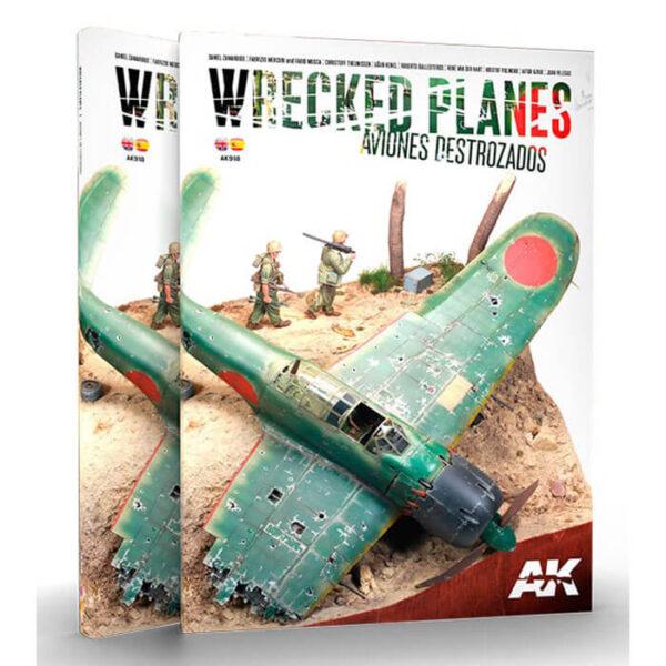 AK918 Wrecked Planes - Aviones Destrozados Los amantes de los efectos disfrutarán de todos los recursos que se compilan en estos aviones, realizados como derribados, dañados o abandonados.