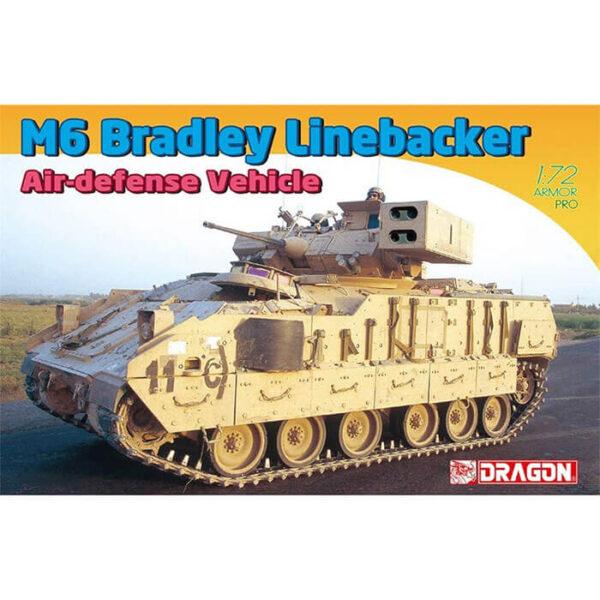 dragon 7624 M6 Bradley Linebacker Air-Defense Vehicle 1/72 Kit en plástico para montar y pintar. Incluye piezas en fotograbado.