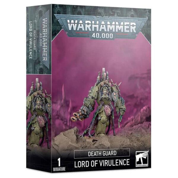 games workshop 43-77 Señor de la Virulencia Death Guard Comanda tus fuerzas de la Guardia de la Muerte