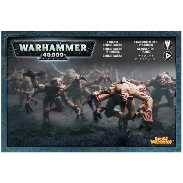 games workshop 51-06 Genestealers Tiránidos Warhammer 40K Contiene 8 Genestealers de plástico multicomponente, incluye componentes adicionales para representar armas simbiontes o biomorfos
