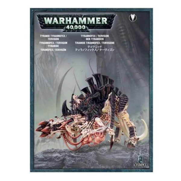 games workshop 51-09 Tiranofex Tiránido Warhammer 40K Se puede montar como un Tiranofex o un Tervigón de los Tiránidos.
