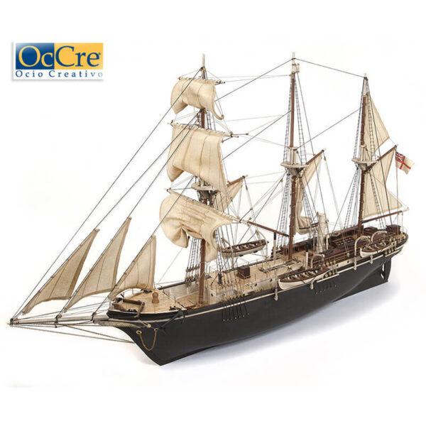 occre 12008 Bergantín Endurance formó parte en la Expedición Imperial Transantártica, para cruzar la Antártida al mando de Sir Ernest Shackleton.