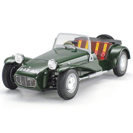 tamiya 24357 Lotus Super 7 Series II 1/24 Kit en plástico para montar y pintar. Incluye piezas en fotograbado.