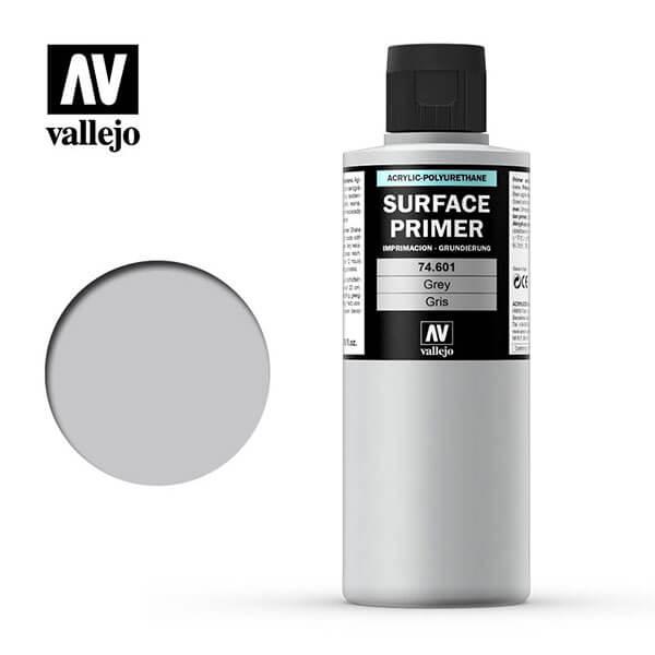 acrylicos vallejo AV 74601 Imprimación Gris Grey Primer 200ml