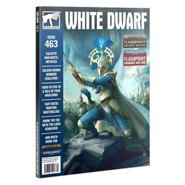 games workshop White Dwarf nº 463 revista en Inglés La revista White Dwarf esta centrada en el universo de los juegos de Games Workshop, Warhammer,Warhammer 40k, Age of Sigmar, Warhammer Underworld, etc.