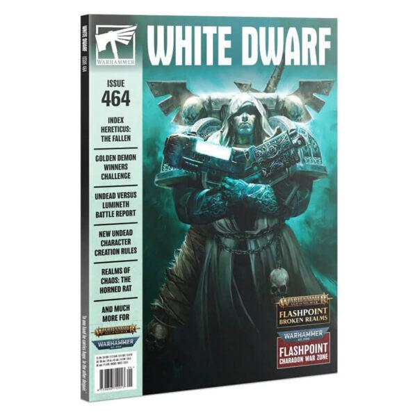 games workshop White Dwarf nº 464 revista en Inglés La revista White Dwarf esta centrada en el universo de los juegos de Games Workshop, Warhammer,Warhammer 40k, Age of Sigmar, Warhammer Underworld, etc
