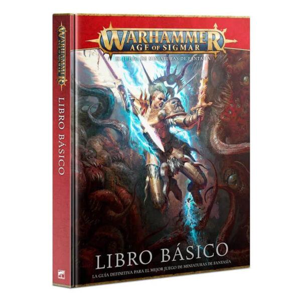 games workshop 80-02 Warhammer Age of Sigmar Libro básico El libro esencial lleno de reglas y trasfondo de Warhammer Age of Sigmar.