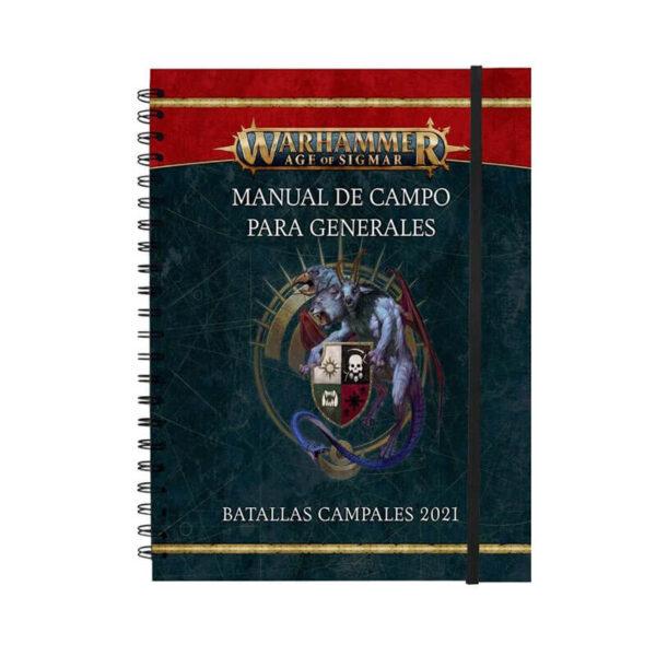 games workshop 80-18 Warhammer Age of Sigmar: Manual de campo para generales, batallas campales 2021 y perfiles de batallas campales