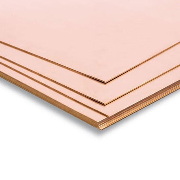 hirsch metales Planchas de Cobre 400 x 200 ml Plancha de cobre para modelismo.