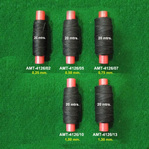 AMATI 4126 Hilo negro Amati Model recomendado para jarcia móvil