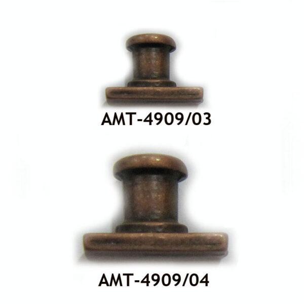 AMATI 4909 BITAS DE METAL CON BASE