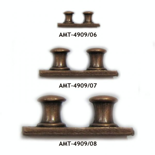 AMATI 4909 BITAS DOBLES DE METAL CON BASE