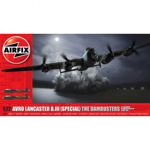 airfix a09007 Avro Lancaster B.III (Special) The Dambusters 617 Squadron Operation Chastise 17 May 1943