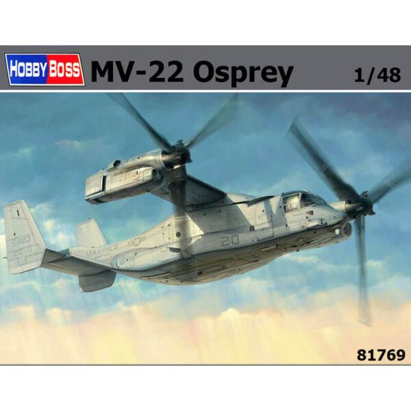 hobby boss 81769 Bell-Boeing V-22 Osprey Kit en plástico para montar y pintar. Incluye piezas en fotograbado.