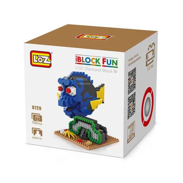 Loz 9729 Dori 700 pcs Construye y colecciona tus personajes favoritos con los bloques de montaje mas pequeños del mercado.