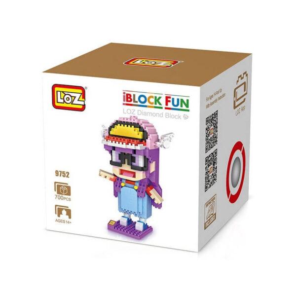 Loz 9752 Arale Norimaki 700 pcs Construye y colecciona tus personajes favoritos con los bloques de montaje mas pequeños del mercado.
