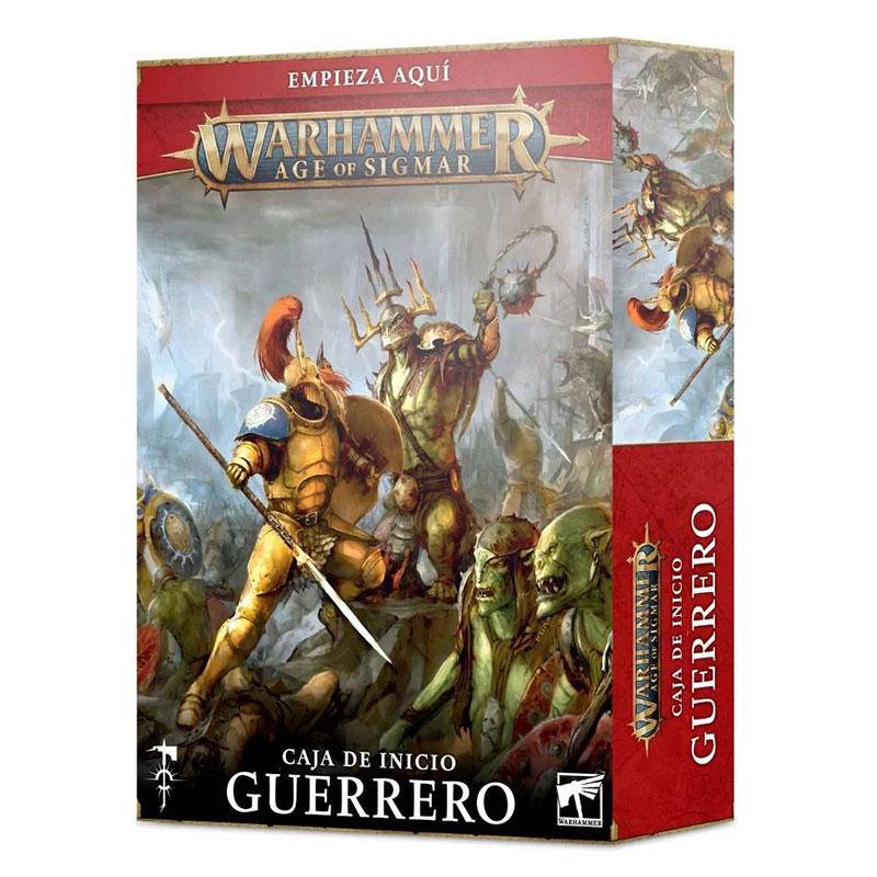 games workshop 80-15 Caja de inicio Warhammer Age of Sigmar: Guerrero Las Guerras del Alma han terminado, pero se avecina un nuevo conflicto en el Reino de las Bestias.