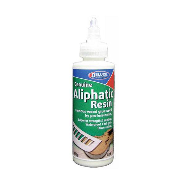 Deluxe Aliphatic Resin - Adhesivo alifático 112g Adhesivo para trabajos de carpintería de resistencia superior.